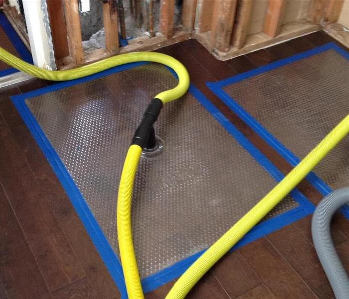 State of the art floor drying by SERVPRO of Tarzana/Reseda